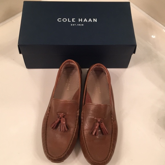 8114b0aeac4 Cole Haan Shoes - Cole Haan Rodeo Tassel Driver Loafers